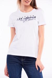 Lee Cooper - Tricou cu maneca scurta si imprimeu