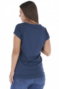 Lee Cooper - Tricou dama din bumbac cu logo imprimat