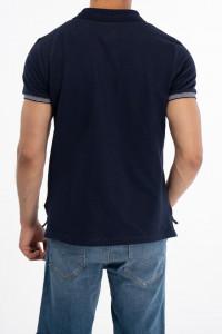 Lee Cooper - Tricou din bumbac tip polo cu logo pe piept