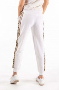 Montecristo - Pantaloni de trening cu detalii in lateral