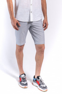 PANTALONI BERMUDA BARBAT LIGHT GREY KVL