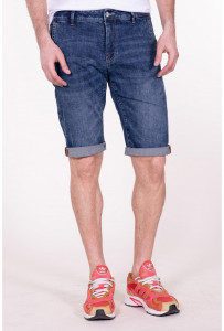 PANTALONI DENIM BERMUDA BARBAT LIGHT BLUE KVL