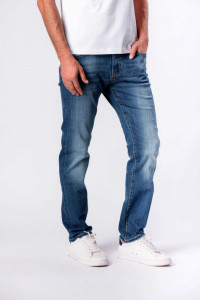 PANTALONI DENIM LUNGI BARBAT MID BLUE LEE COOPER