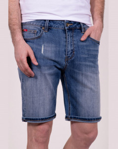 PANTALONI DENIM SORT BARBAT MID BLUE LEE COOPER