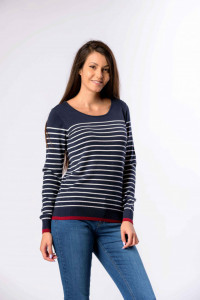 PULOVER MANECA LUNGA DAMA NAVY LEE COOPER