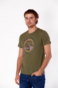 TRICOU MANECA SCURTA BARBAT JUNGLE GREEN KVL