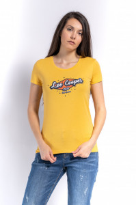 TRICOU MANECA SCURTA DAMA HONEYDEW LEE COOPER