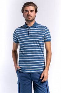 TRICOU MANECA SCURTA TIP POLO DENIM LEE COOPER