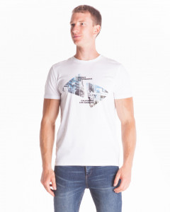 TRICOU MANECA SCURTA WHITE BARBATTIMEOUT