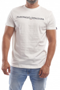 Editie Limitata - Tricou barbat din bumbac cu Nazionale Italiana