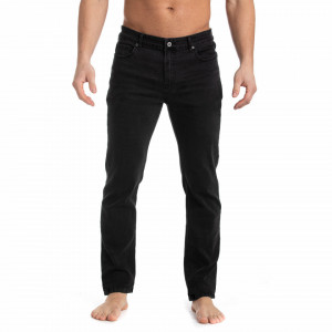 PANTALONI DENIM LUNGI BARBAT DARK DENIM TIMEOUT