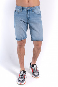 PANTALONI DENIM SORT BARBAT LIGHT BLUE KVL