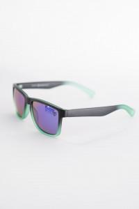 Timeout - Ochelari de soare cu rama verde si lentile colorate