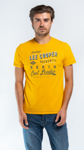 TRICOU MANECA SCURTA BARBAT DARK DENIM LEE COOPER