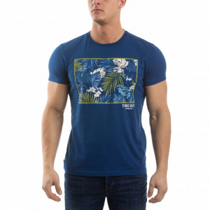 TRICOU MANECA SCURTA BARBAT ESTATE BLUE TIMEOUT