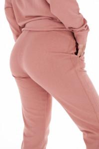 KVL - Pantaloni de trening dama cu buzunare si banda ingusta la glezna