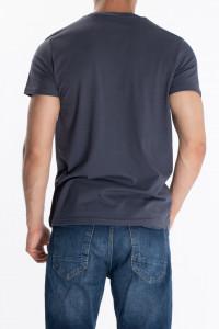 KVL - Tricou barbat cu imprimeu si logo