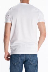 KVL - Tricou din bumbac cu maneca scurta si model imprimat