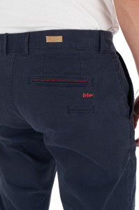 Lee Cooper - Pantaloni lungi cu buzunare oblice si culoare uniforma