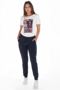 Lee Cooper - Pantaloni subtiri de trening dama cu logo