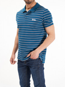 Lee Cooper - Tricou din bumbac tip polo