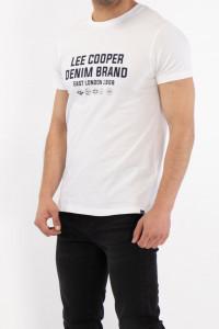 Lee Cooper - Tricou maneca scurta cu logo pe piept