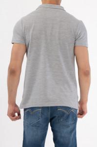 Lee Cooper - Tricou maneca scurta tip polo cu logo