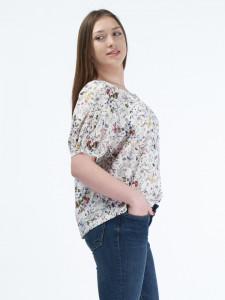 Martinez by Timeout - Camasa oversize cu imprimeu floral