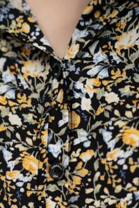 Timeout - Camasa cu maneca scurta si imprimeu floral
