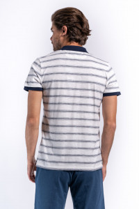 TRICOU MANECA SCURTA TIP POLO OFF WHITE LEE COOPER