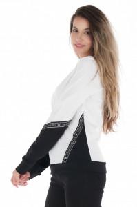 KVL - Bluza dama cu maneca lunga si detalii logo