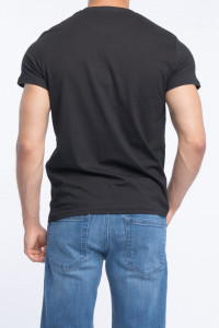 KVL - Tricou barbat cu imprimeu din bumbac
