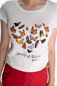 KVL - Tricou cu maneca scurta imprimat