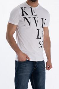KVL - Tricou cu maneca scurta si imprimeu logo