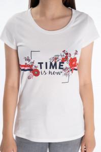 KVL - Tricou dama cu imprimeu floral
