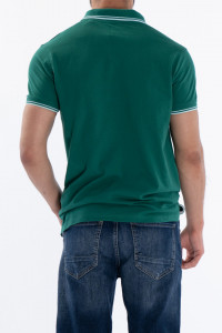KVL - Tricou tip polo cu logo brodat