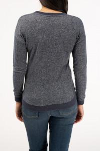 Lee Cooper - Bluza cu maneca lunga si umeri cazuti