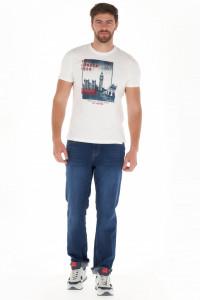 Lee Cooper - Tricou barbat cu imagine imprimata