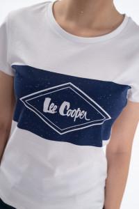 Lee Cooper - Tricou cu maneca scurta si logo