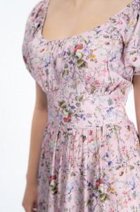 Martinez by Timeout - Rochie maxi cu imprimeu floral