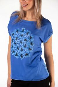 Montecristo - Tricou fluid cu motiv floral