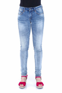 PANTALONI DENIM LUNGI DAMA MID DENIM TIMEOUT