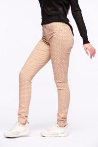 Timeout - Pantaloni skinny lungi cu imprimeu