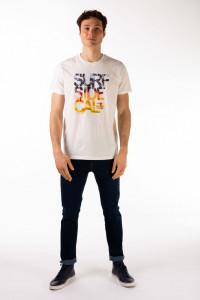 Timeout - Tricou barbat cu maneca scurta si imprimeu