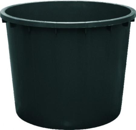 Kaca plastična 1000L - crna ICS-SPA.IT