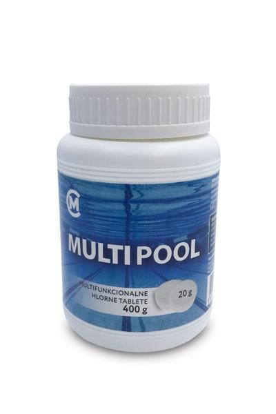 MULTIPOOL 400g (20g tableta) - hlorne tablete za male bazene