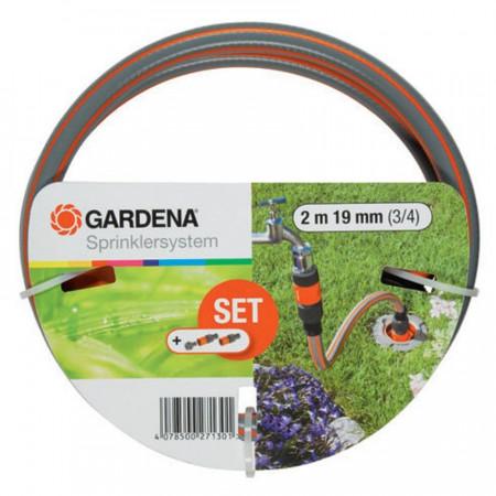 Set za povezivanje-crevo 2m + nastavci Gardena