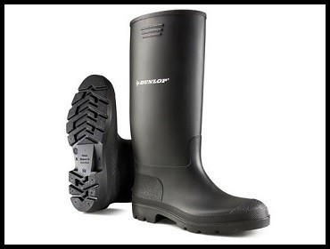Čizme Dunlop Pricemastor Crne