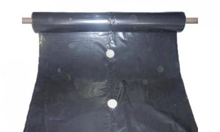 Folija za jagode CRNA 1mx500m 30mic jednoredna