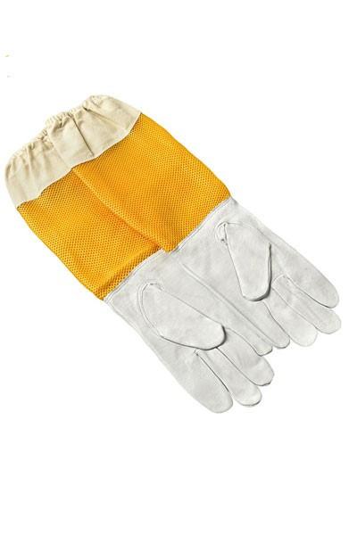 Kožne pčelarske rukavice sa ventilacijom L